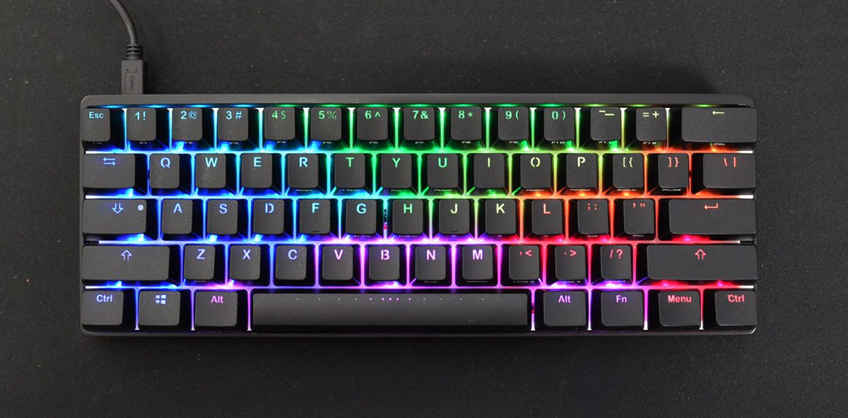 41b29f2c41d Vortex POK3R RGB Mechanical Keyboard (Brown Cherry MX). Great for gaming  and typing, this Vortex POK3R features tactile switches for tactile  feedback ...