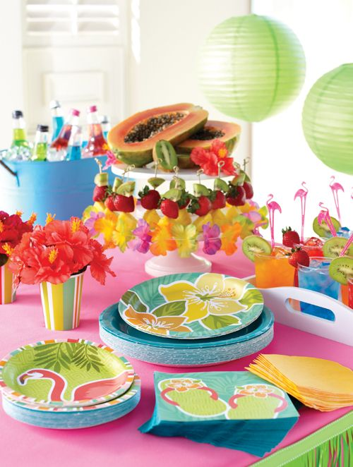 Party Decorations Hawaiian Luau Party Supplies Decorations