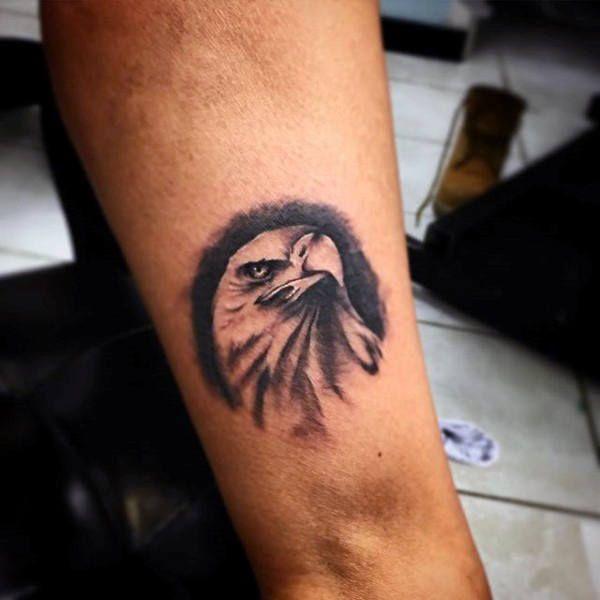 Small Soaring Eagle Tattoo 90 bald eagle tattoo designs ...