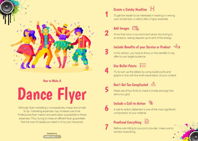 Download 22+ Dance Flyer Templates Word (Doc) Psd