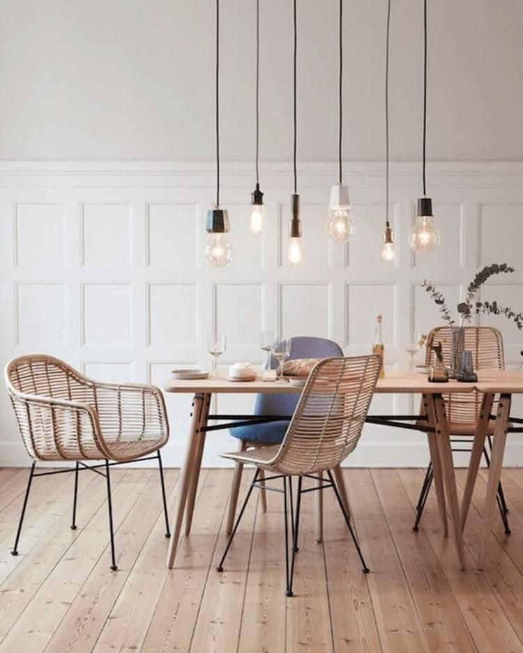 Modern Minimalist Dining Room Design With Wooden Chairs You Will Love Woodenchair Minimalist Dining Room Scandinavian Dining Room Modern Dining Room