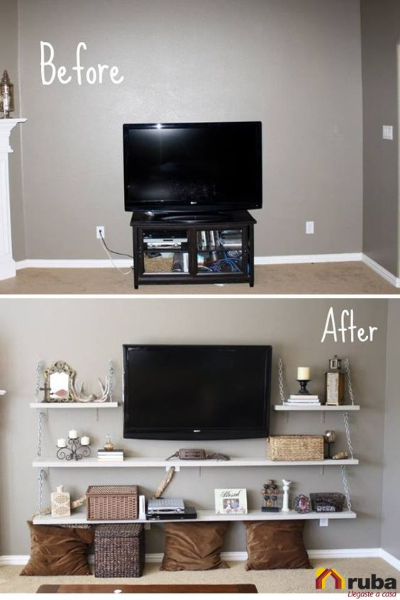 Una muestra más de que cada espacio de tu hogar es importante y puede lucir hermoso ¿Tu ya renovaste tu sala? #HabitaciónRuba Entra más tips para renovar tu sala aquí: http://www.decorailumina.com/sala/como-renovar-mi-sala-7-tips.html