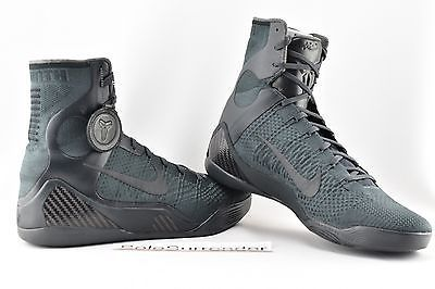 reputable site 8561d 27247 Nike Kobe IX Elite FTB - SIZE 12 - 869458-441 Fade to Black ...