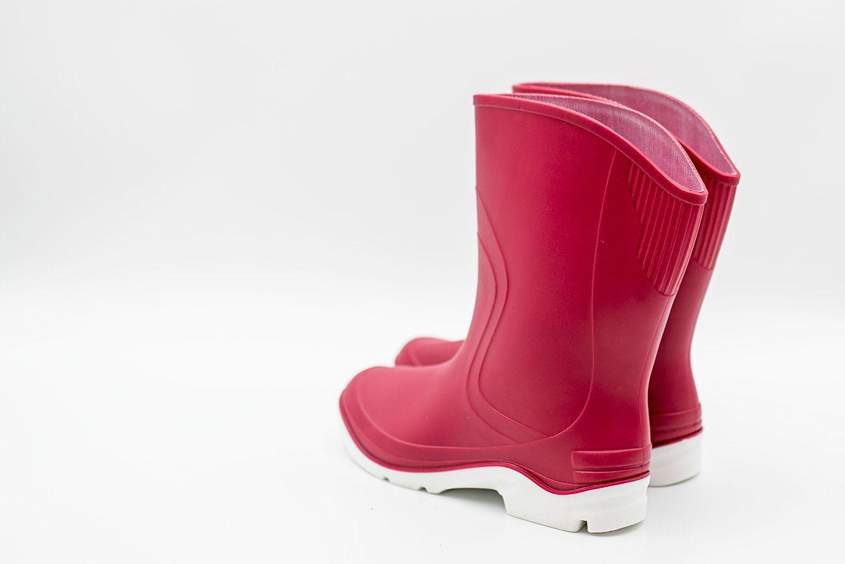 Kalosze Damskie Krotkie Czerwone Btdkrainbow Bur Rain Boots Rubber Rain Boots Boots