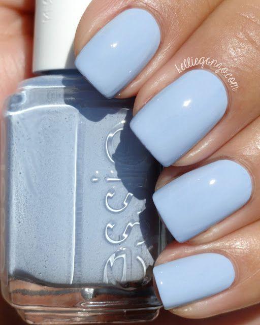 Essie- saltwater happy.   Diseños de uñas   Pinterest   Esmalte ...
