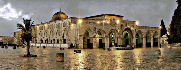 A Beautiful Shot Of Al Aqsa Mosque مسجد الأقصى Mesjid Fotografi
