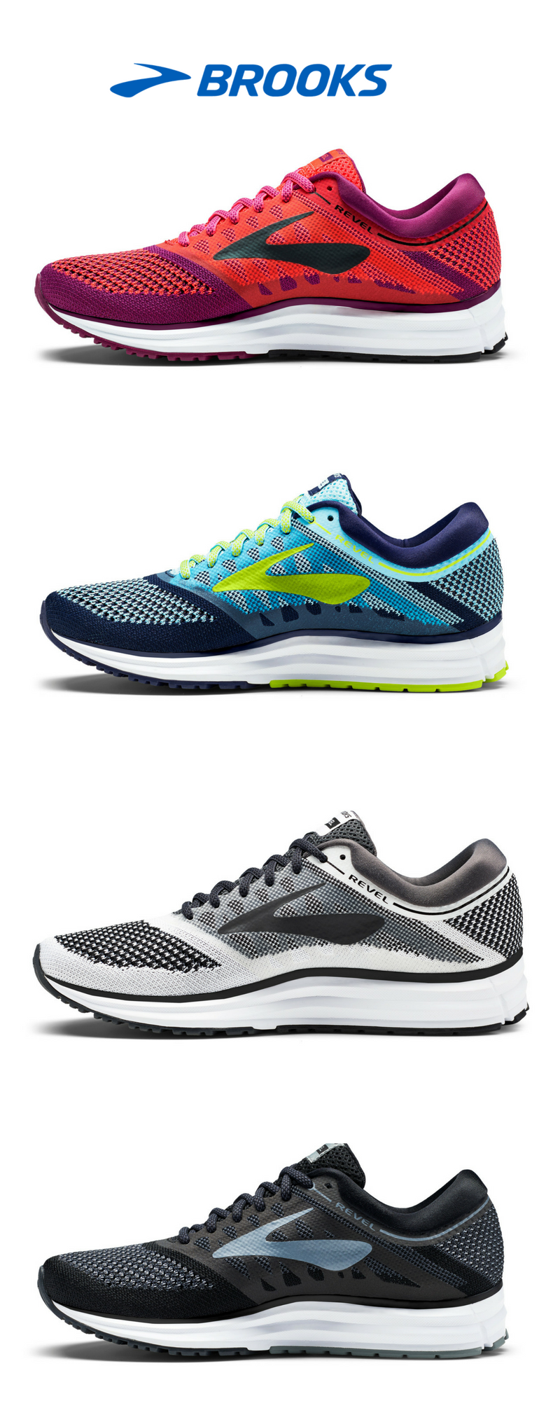 new products cd52d 44fcc The Revel | Running Shoes from Brooks Running | Styled to go ...