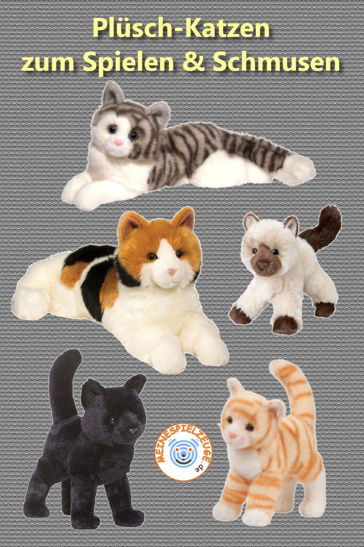 Süße Plüsch Katzen in realistische Optik. Nicht nur für Kinder ist eine Kuscheltier Katze eine prima Geschenkidee auch erwachsene Katzenfans erfreuen sich an den ausdrucksvollen Stofftier Katzen. Verschiedene Arten, wie z. B. Schildpatt oder Himalaya Katze oder Farben wie zum Beispiel Schwarze Katze erfreuen die Herzen von Groß und Klein. Entdecken Sie unsere entzückenden Plüsch-Katzen.