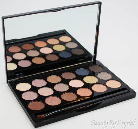 The BEST ELF Eyeshadow Palette EVER! #Beautybykrystal #bblogger #review #swatch - bellashoot.com