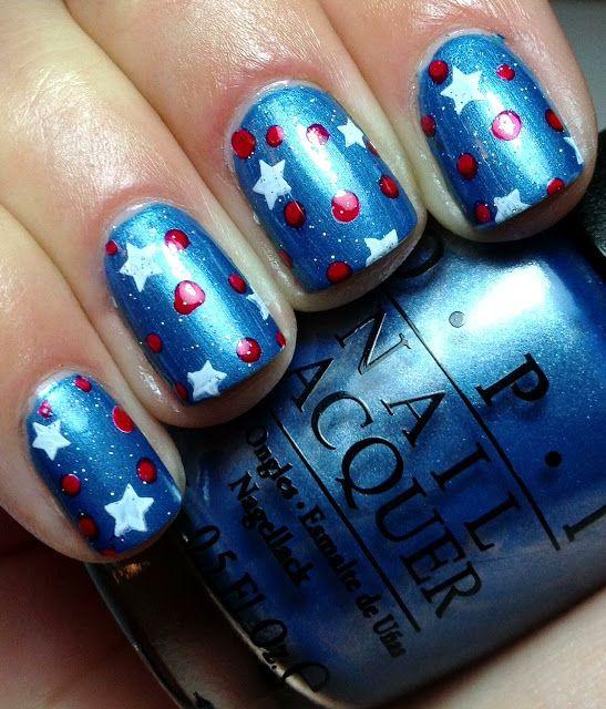 Memorial Day Nails Patriotic Nails Red White And Blue Nails Labor Day Nails July 4th Nails Independence Day Nails Patriotic Nails Red Nails Nails