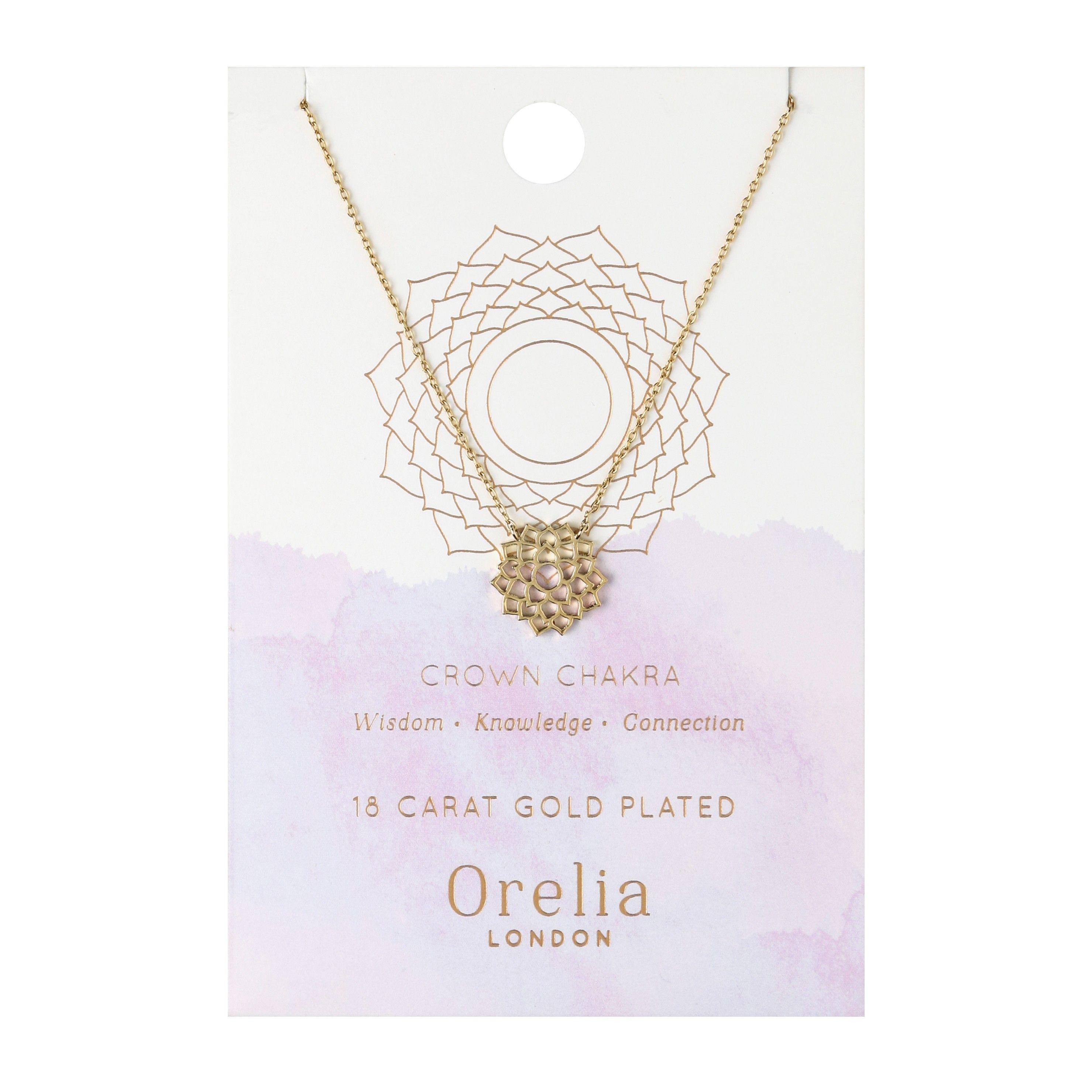 Crown Chakra Necklace | Orelia London