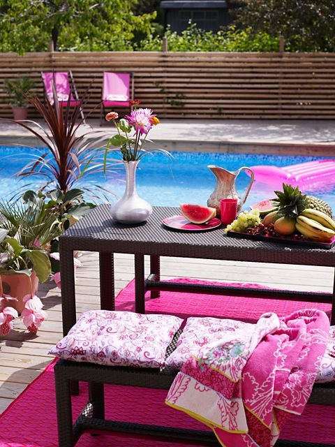 Decoración en rosa, el color femenino por excelencia - http://decoracion2.com/decoracion-en-rosa-el-color-femenino-por-excelencia/63224/ #ColorRosa, #ConsejosColorRosa, #DecoraciónEnColorRosa