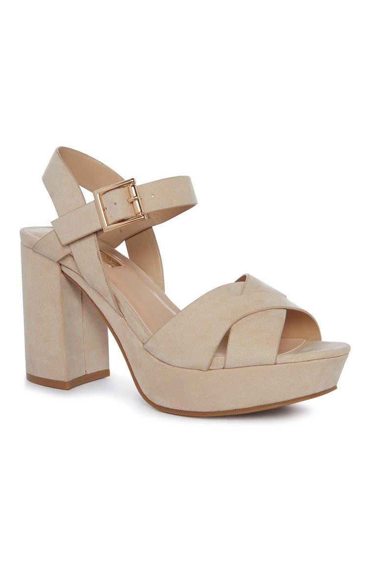 7b5c60fd69b Primark - Nude Cross Platform Sandal