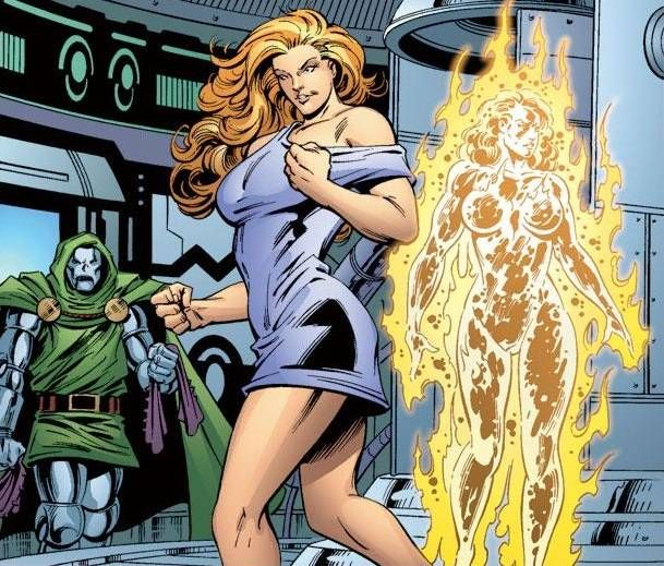 doctor doom and the origin of volcana and titania marvel