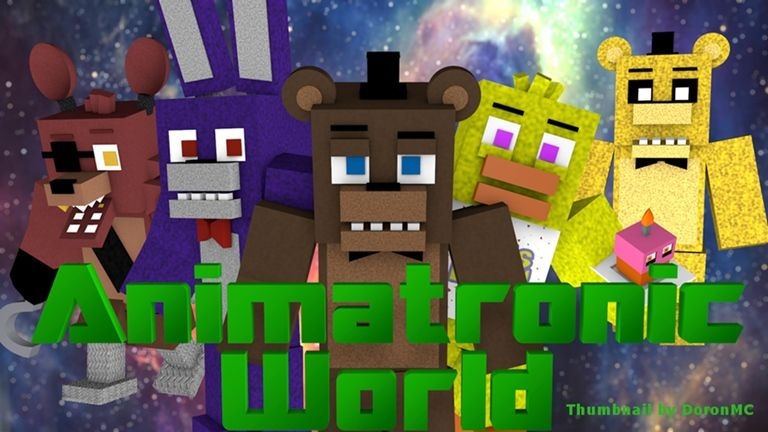 Animatronic World Roblox Roblox World Fnaf