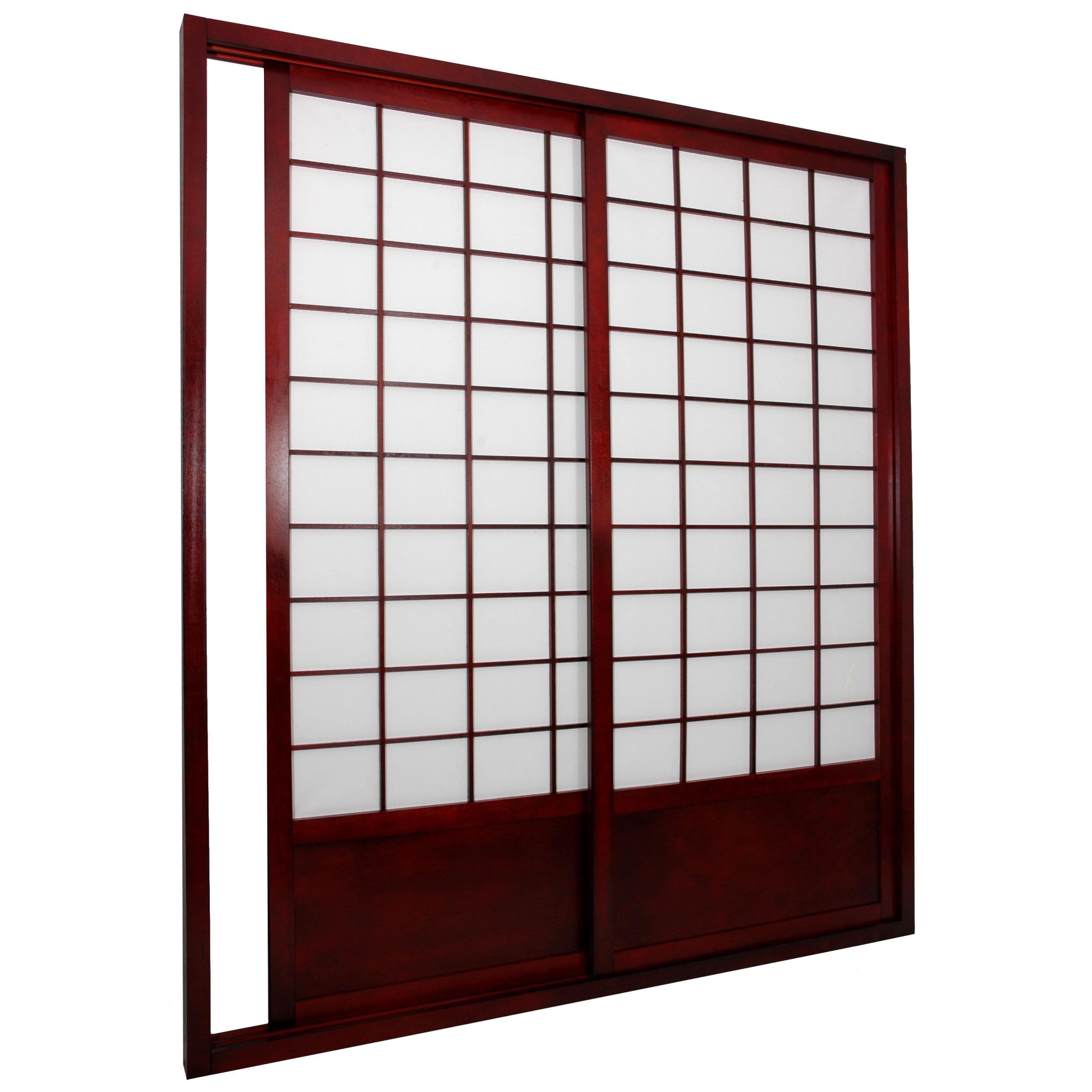 Asian pocket door