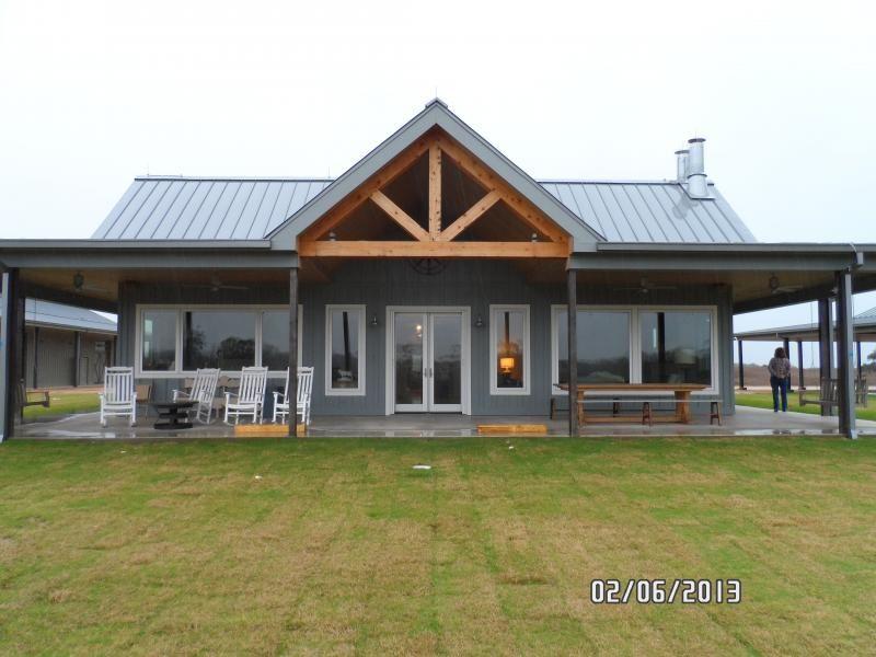 Cross Creek Construction Design Home Metal Building House