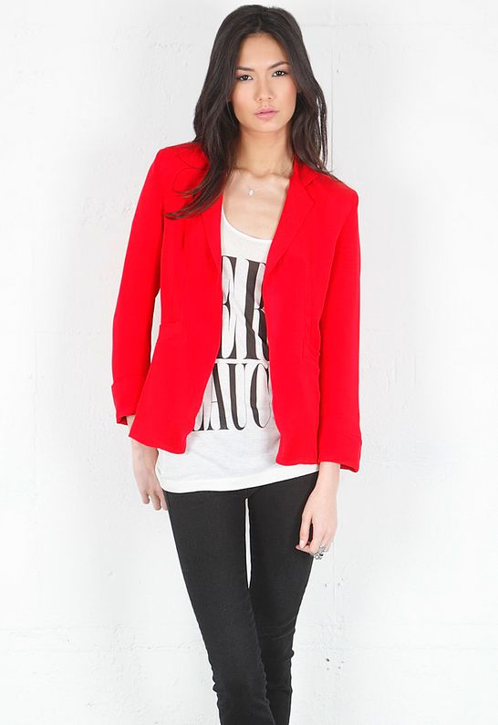 Naven Blazer in Red $299 | Hot Sale Items | Pinterest | Red design ...