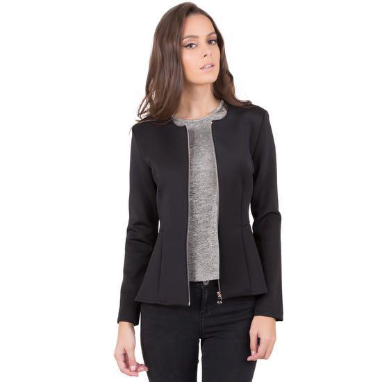 337941c50925 Manches Longues · Tenues · Rehaussez vos tenues avec cette belle veste  cintrée peplum