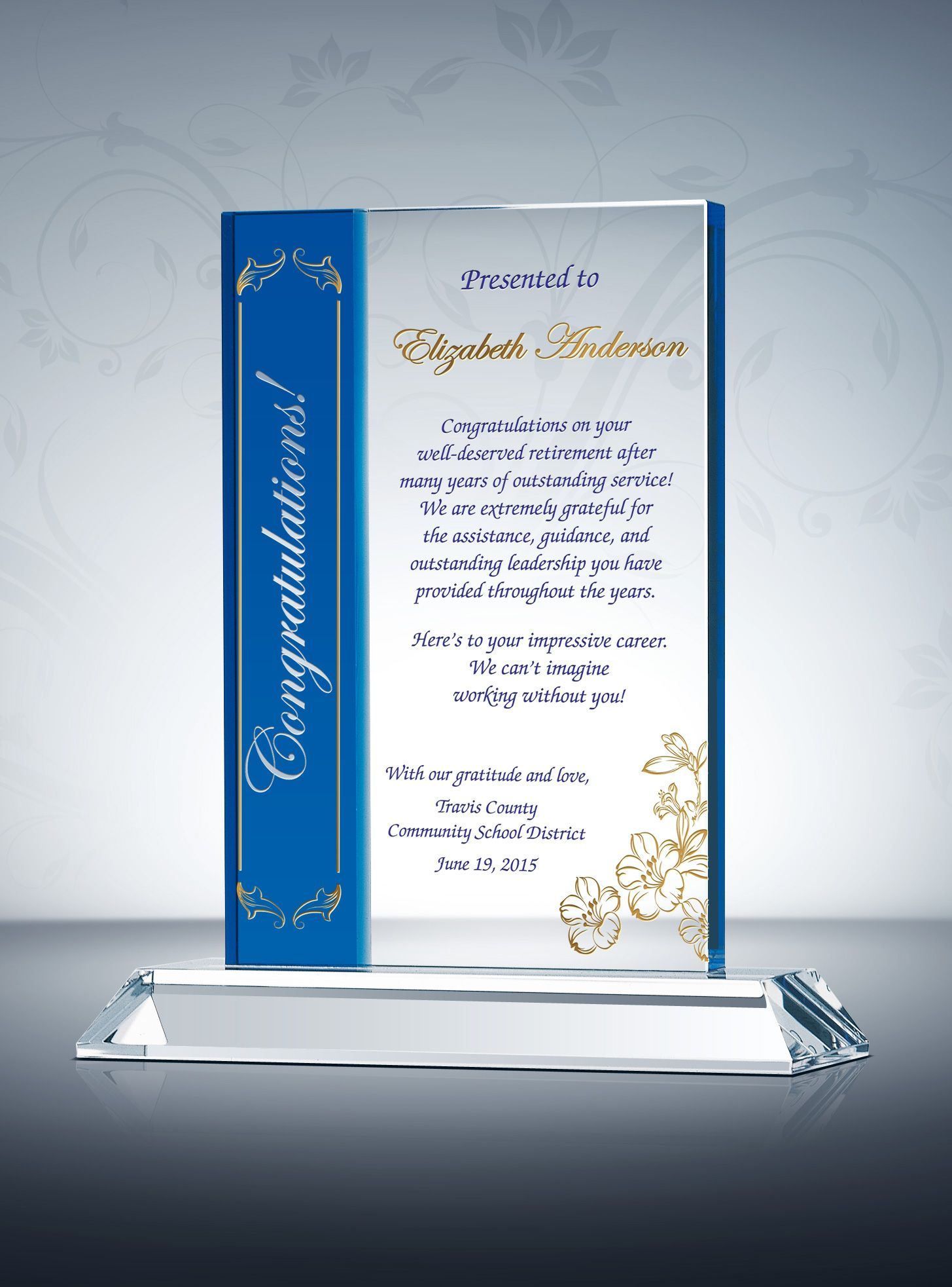 Sample Employee Appreciation Messages For Years Of Service Awards Appreciation Message Employee Appreciation Messages Employee Appreciation Quotes