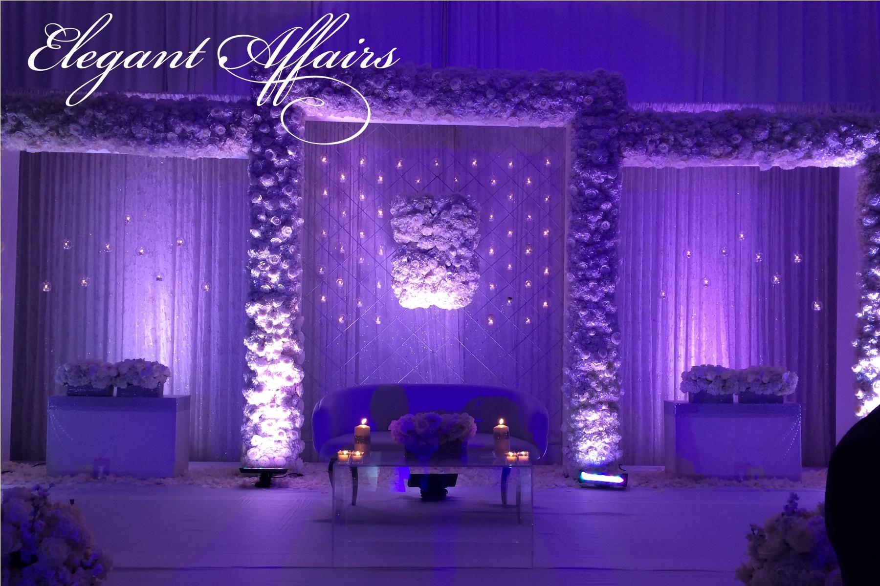Wedding stage decoration dubai  Such a beautiful setup done by Elegant Affairs elegantaffairs