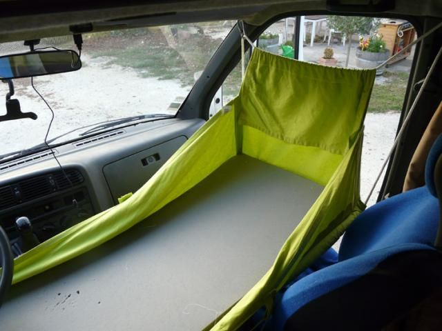 Hamac Cabine Camping Car