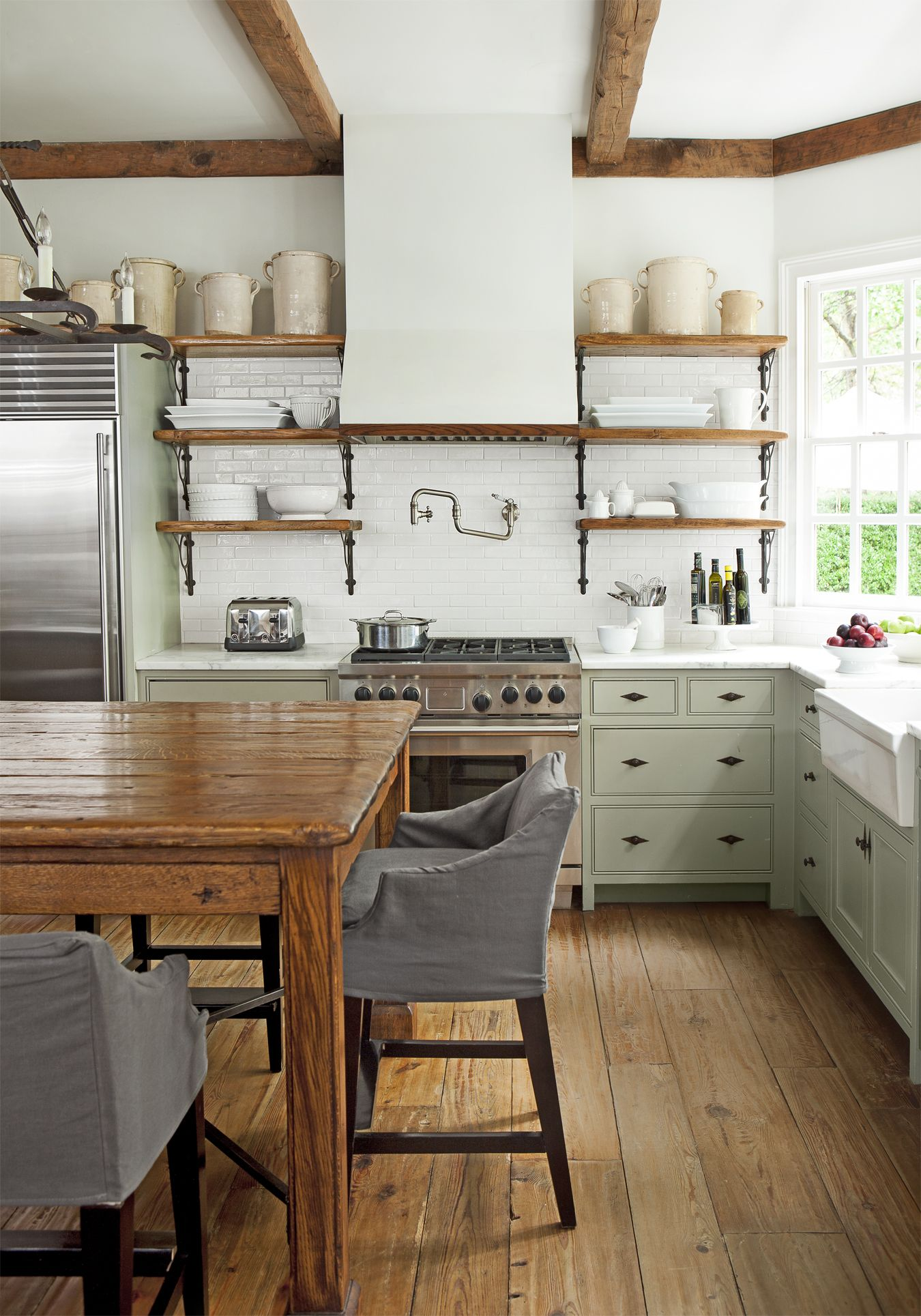 32 Kitchen Trends For 2020 That We Predict Will Be Everywhere Farmhouse Kitchen Inspiration Farmhouse Style