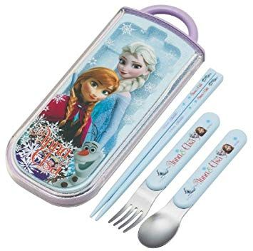 Disney Frozen Chopsticks Spoon Fork Set Tcs1a Review