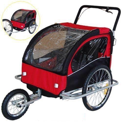 16++ Bike trailer stroller combo information