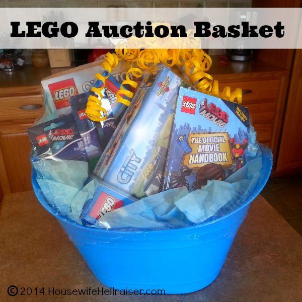 Fundraiser Gift Ideas: LEGO Auction Gift Baskets For School Fundraiser Auction
