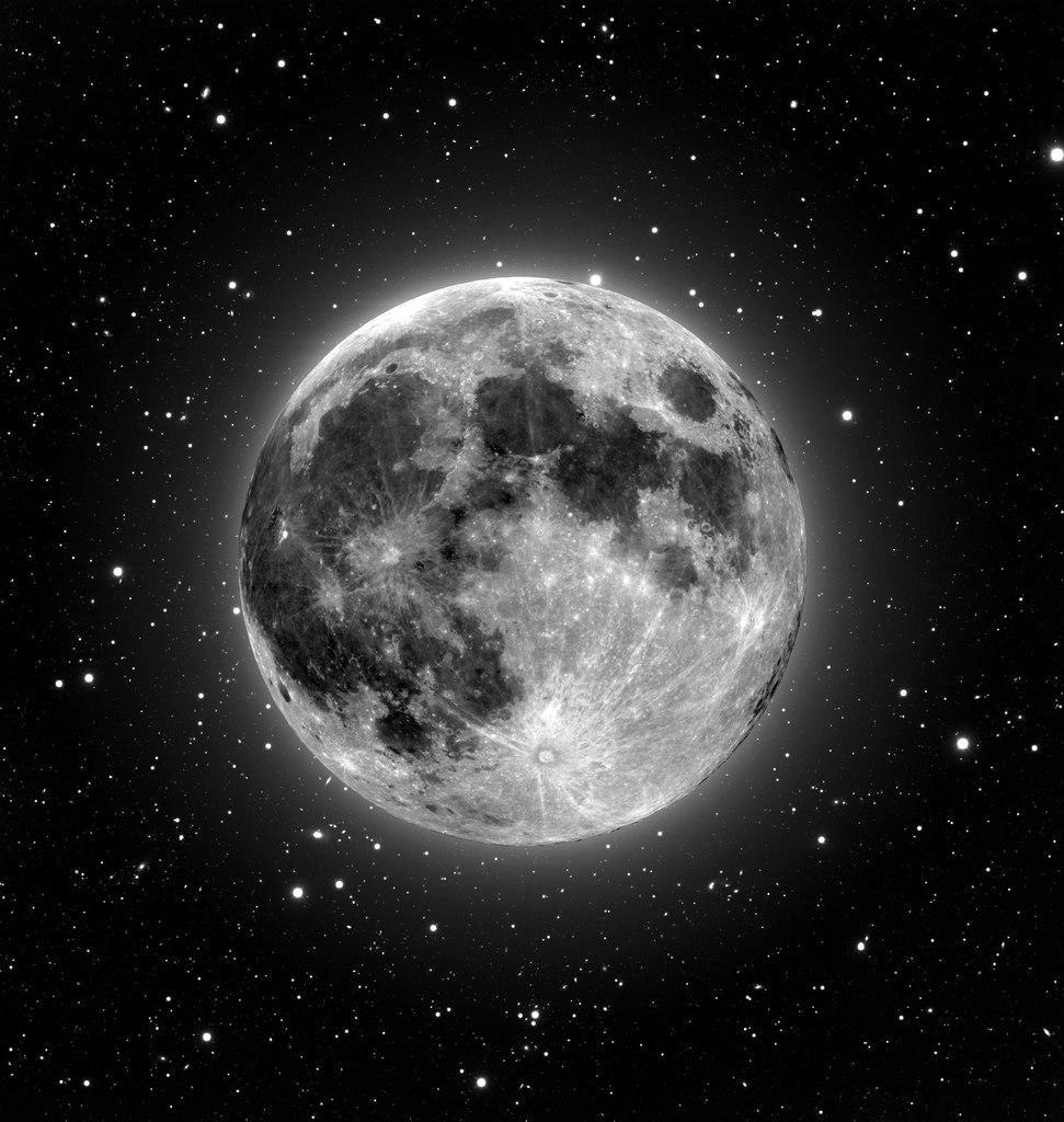 Луна в картинках