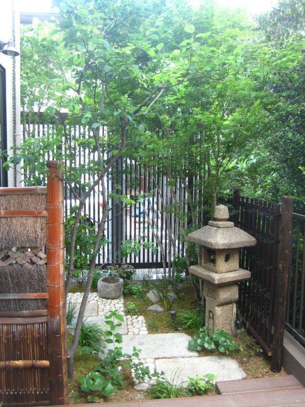 small space Japanese garden qi sh➍ Pinterest Lanterne - Jardin Japonais Chez Soi