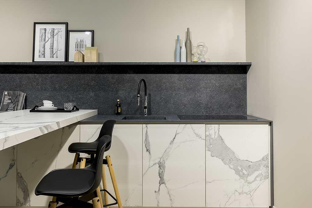Plan De Travail Ceramique Imitation Marbre Florim Stone Piani Di Lavoro Cucina Idee Controsoffitto Cucine