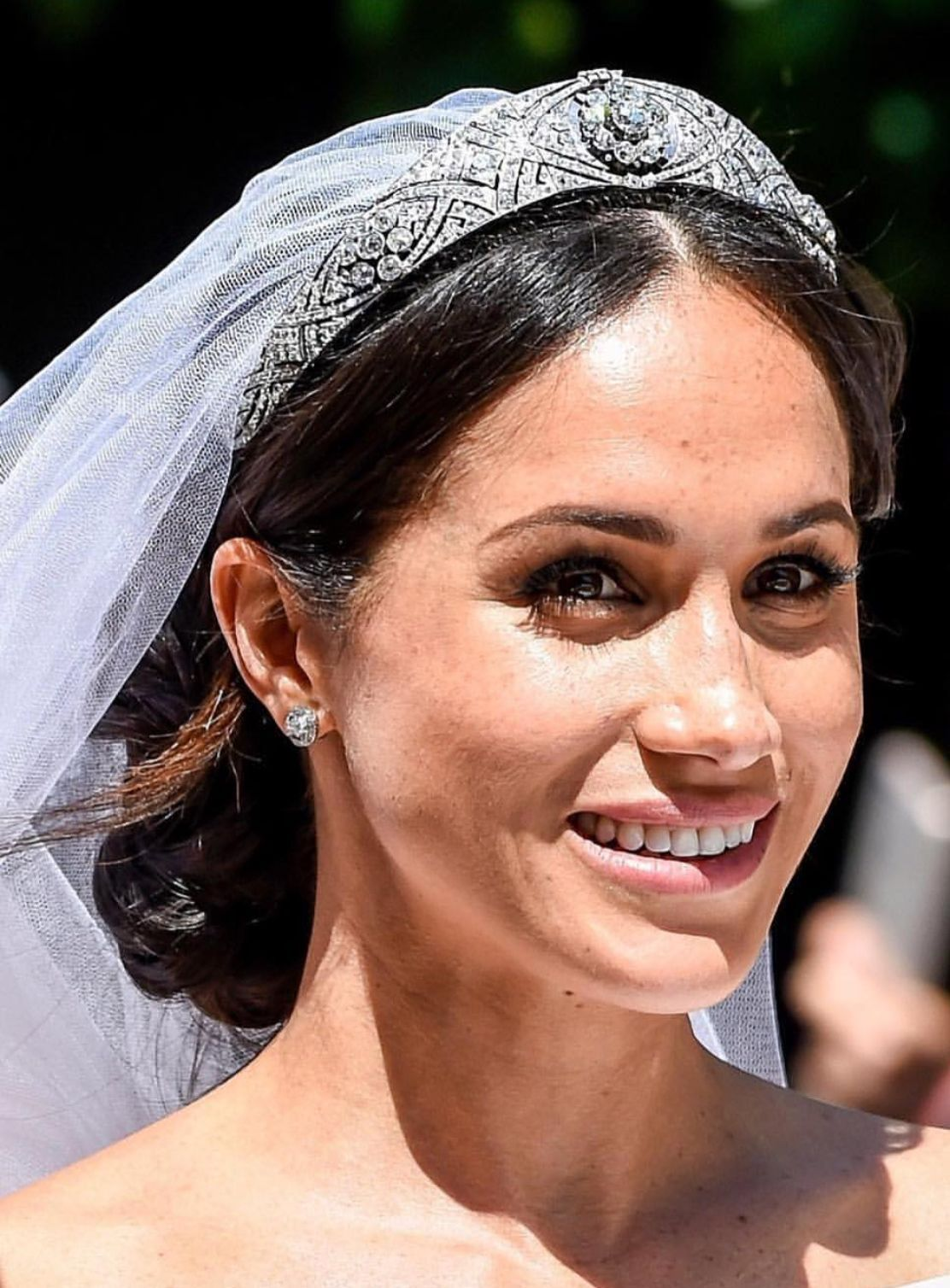 Meghan Markle S Wedding Makeup Look Was So Simple And Gorgeous The Whole Created Using Dior Products Meghanmarkle Royalwedding
