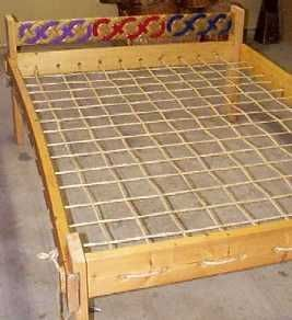 Good idea for elevating an air bed for camping or overnight guests.  Easy to put