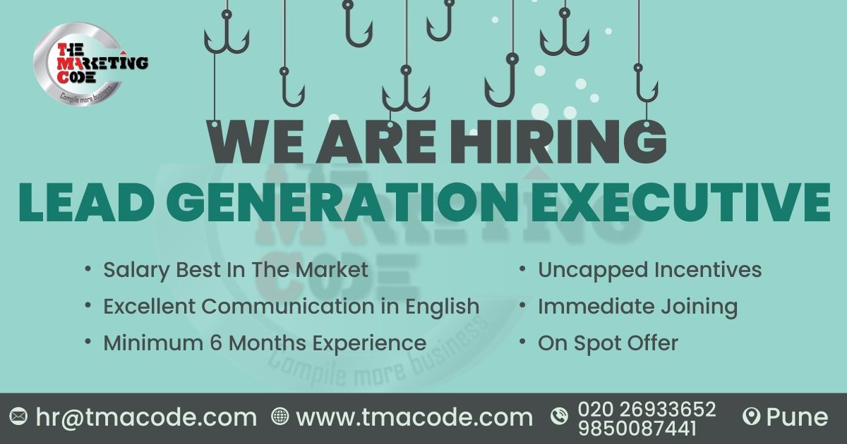 Hello Connections Greetings Good Wishes We Have Urgent Opening For Lead Generation Executive For More Inf Career Management Jobs Hiring Lead Generation
