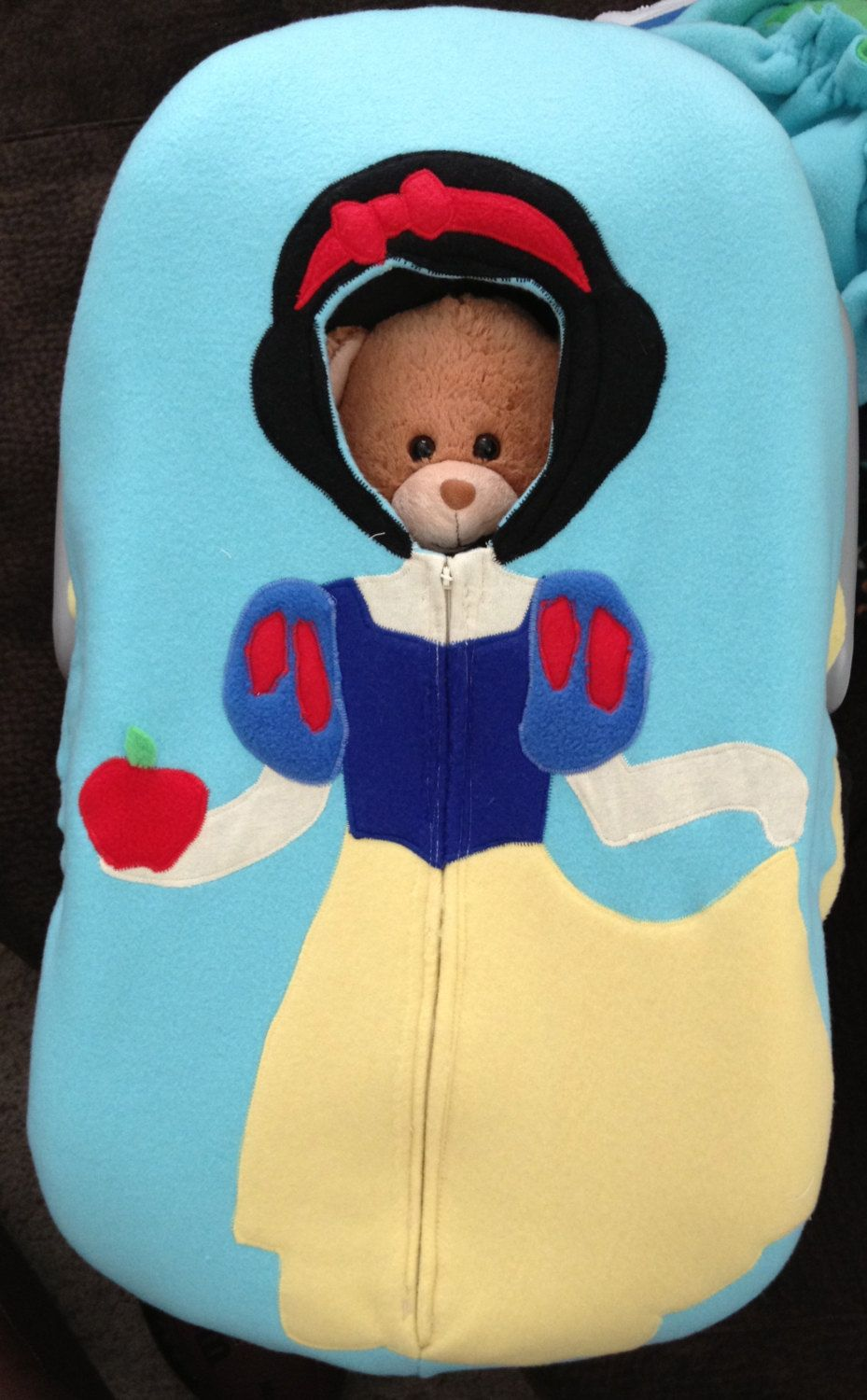 Snow White Car Seat Snuggler Fitted Cover 6300 Via Etsy