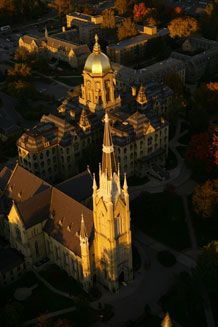 University of Notre Dame, Indiana, USA This place is ...