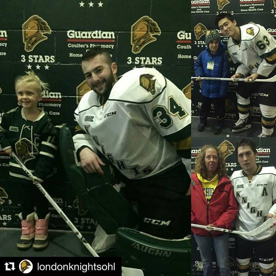 Congratulations To The Coulter S Pharmacy 3 Stars Of The Knight December 31 2016 London Knights Budweiser Garden London Ontario Pharmacy Knight London