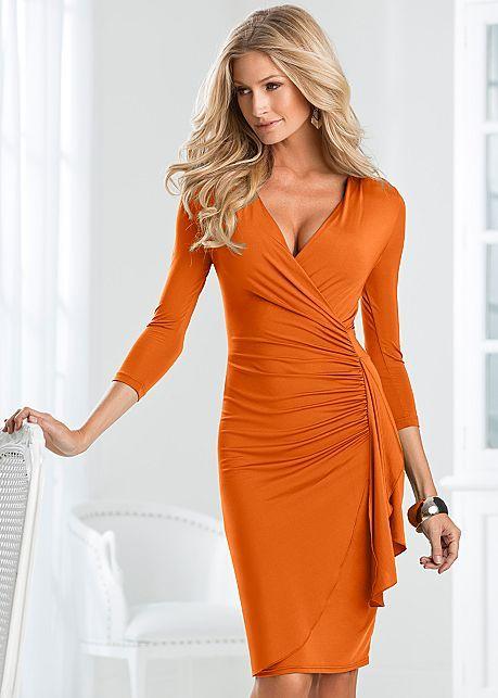 Side Ruffle Dress Colors Dresses Ruffle Dress Ruched Dress