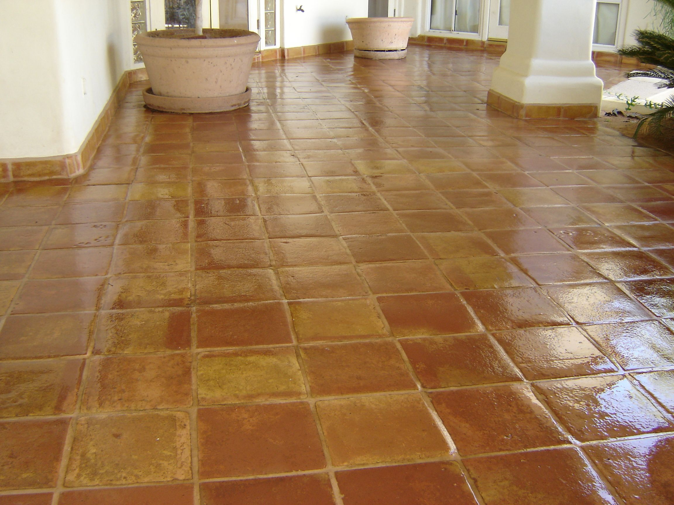 Saltillo tile saltillo saltillo mexican tile pinterest wood make restoring and maintaining your flagstone saltillo tile a breeze by enlisting the professional services of all stonetile wood restoration today dailygadgetfo Gallery