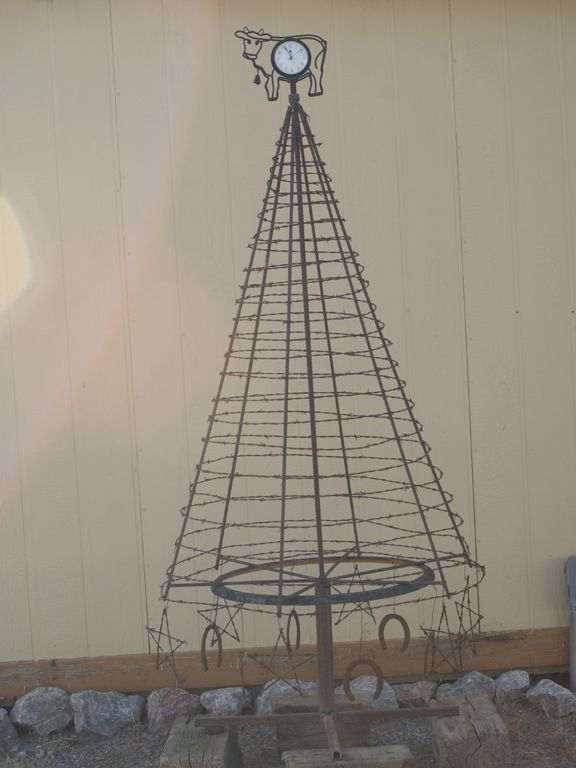 Cowboy Christmas Tree | Christmas | Pinterest | Cowboy christmas ...
