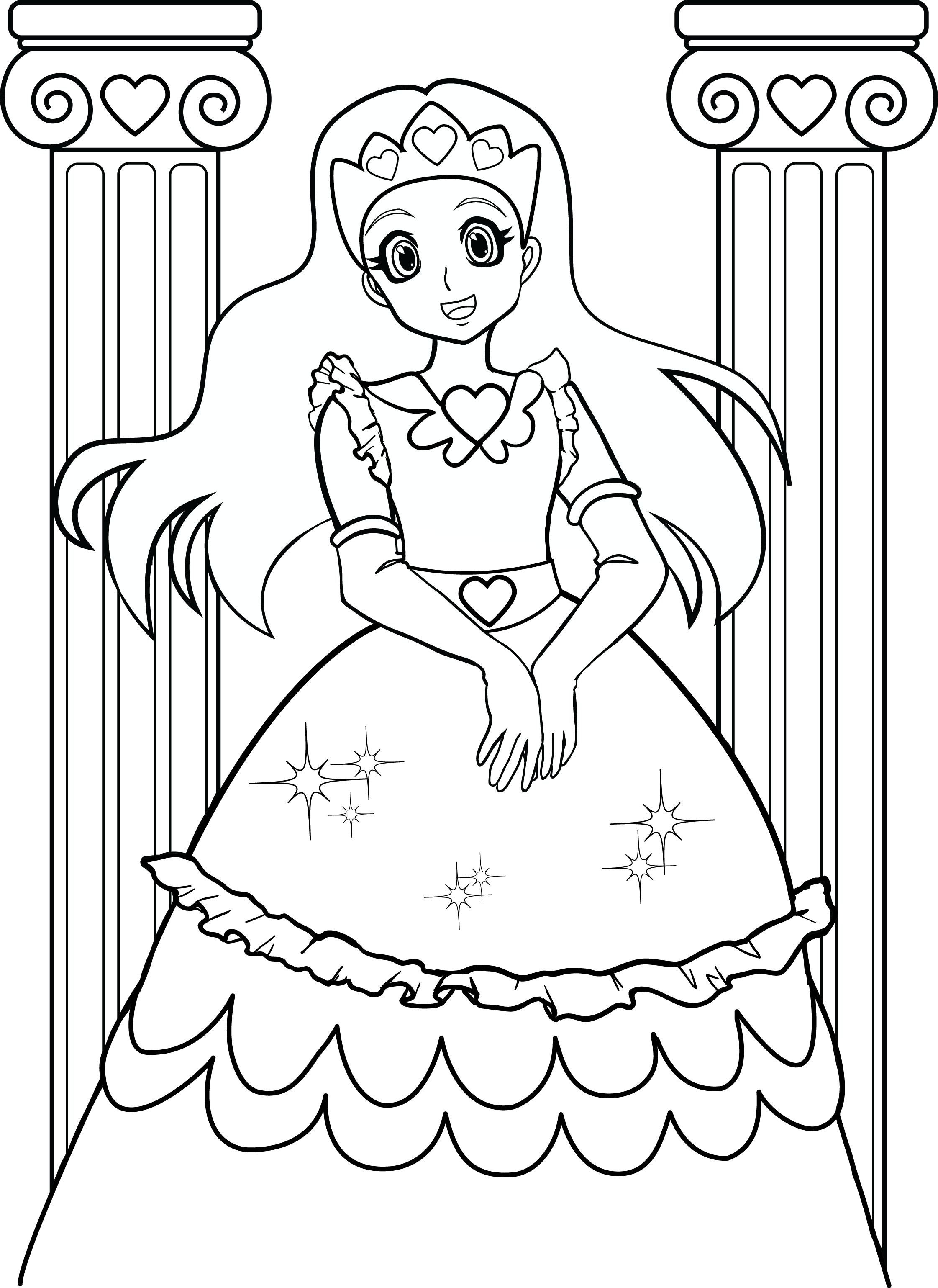 Coloring Pages For Girls 7 Coloring Kids | coloring_pages ...