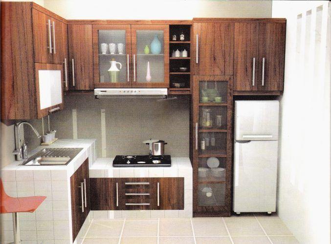 Model Gambar Dan Ukuran Kitchen Set Yang Tepat Untuk Dapur Rumah Desain Dapur Ide Dapur Dapur