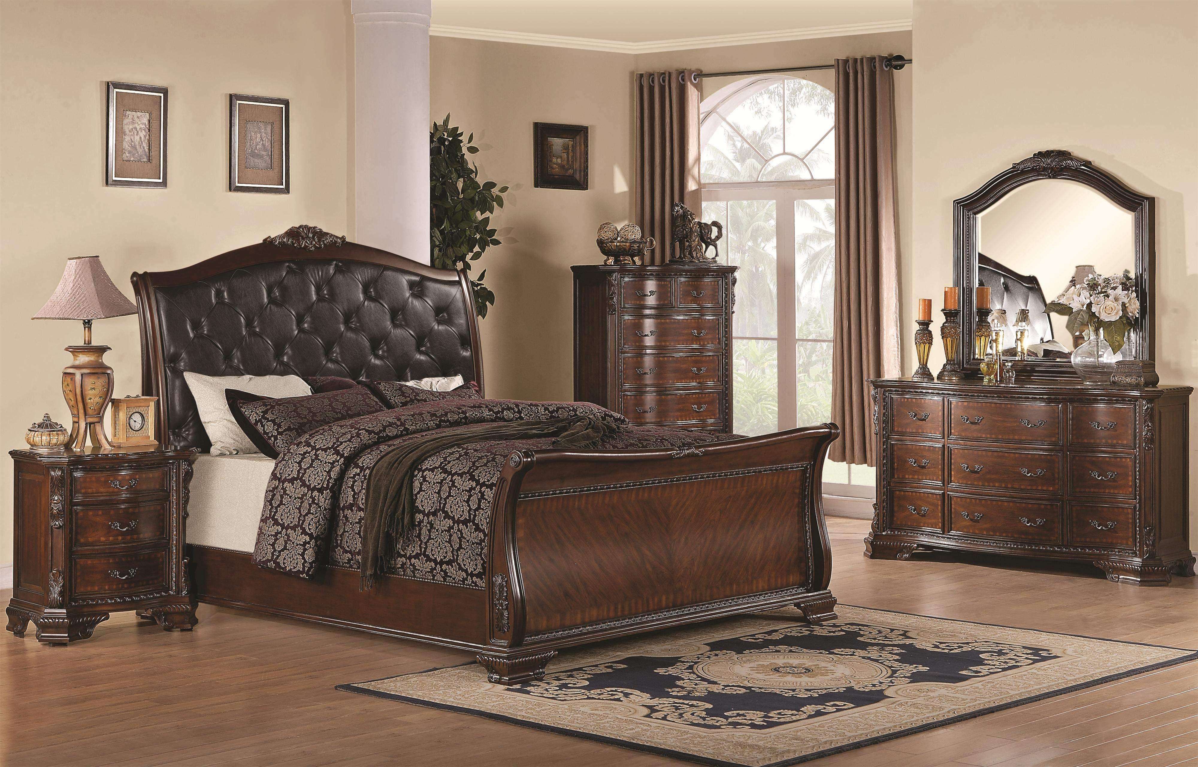 Maddison by Coaster 11 piece Bed set in 11  Bedroom furniture