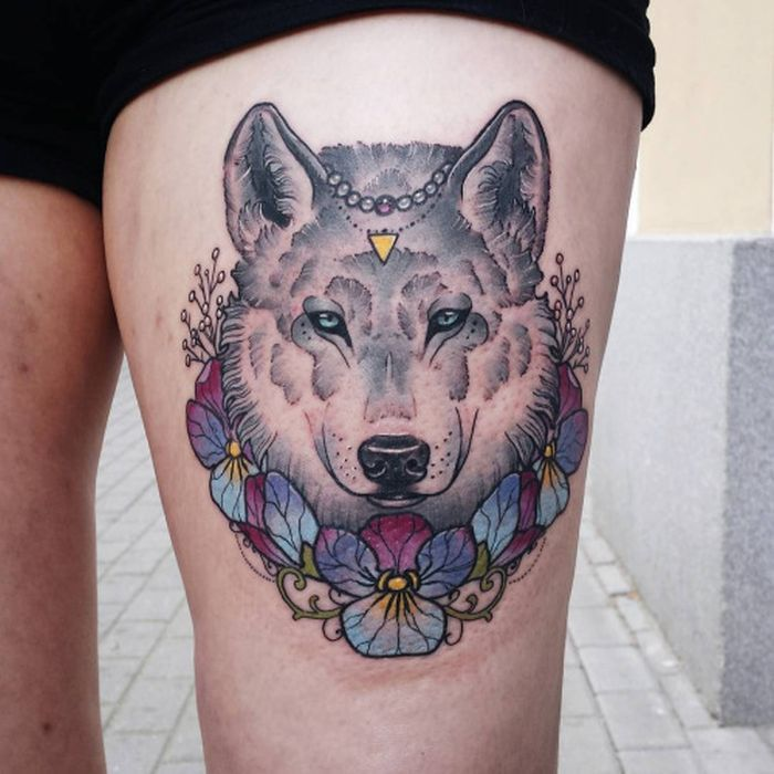 50 Breathtaking Wolf Tattoo Designs: 50 Of The Most Beautiful Wolf Tattoo Designs The Internet
