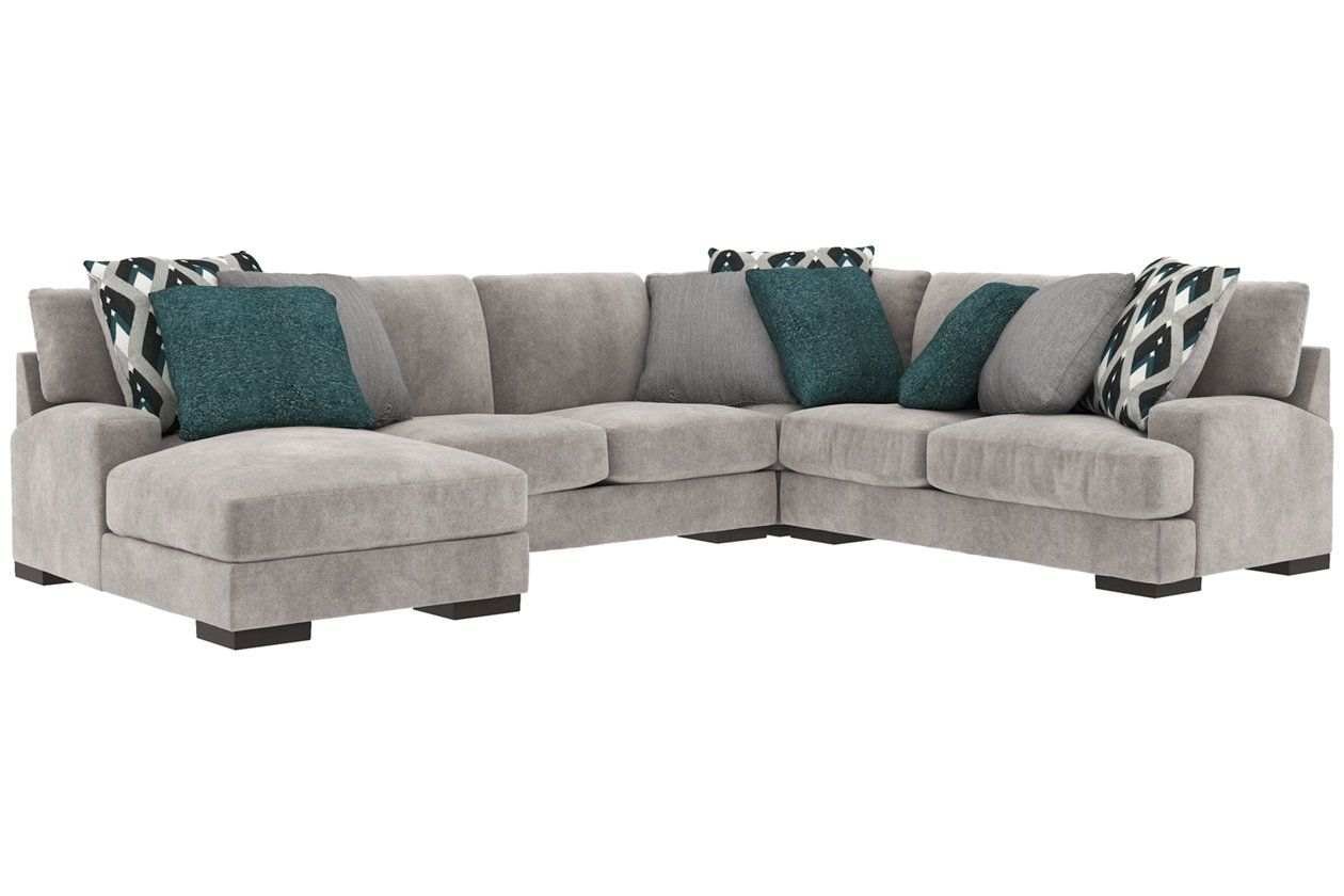 Best Bardarson 4 Piece Sectional With Chaise Ashley Furniture 400 x 300