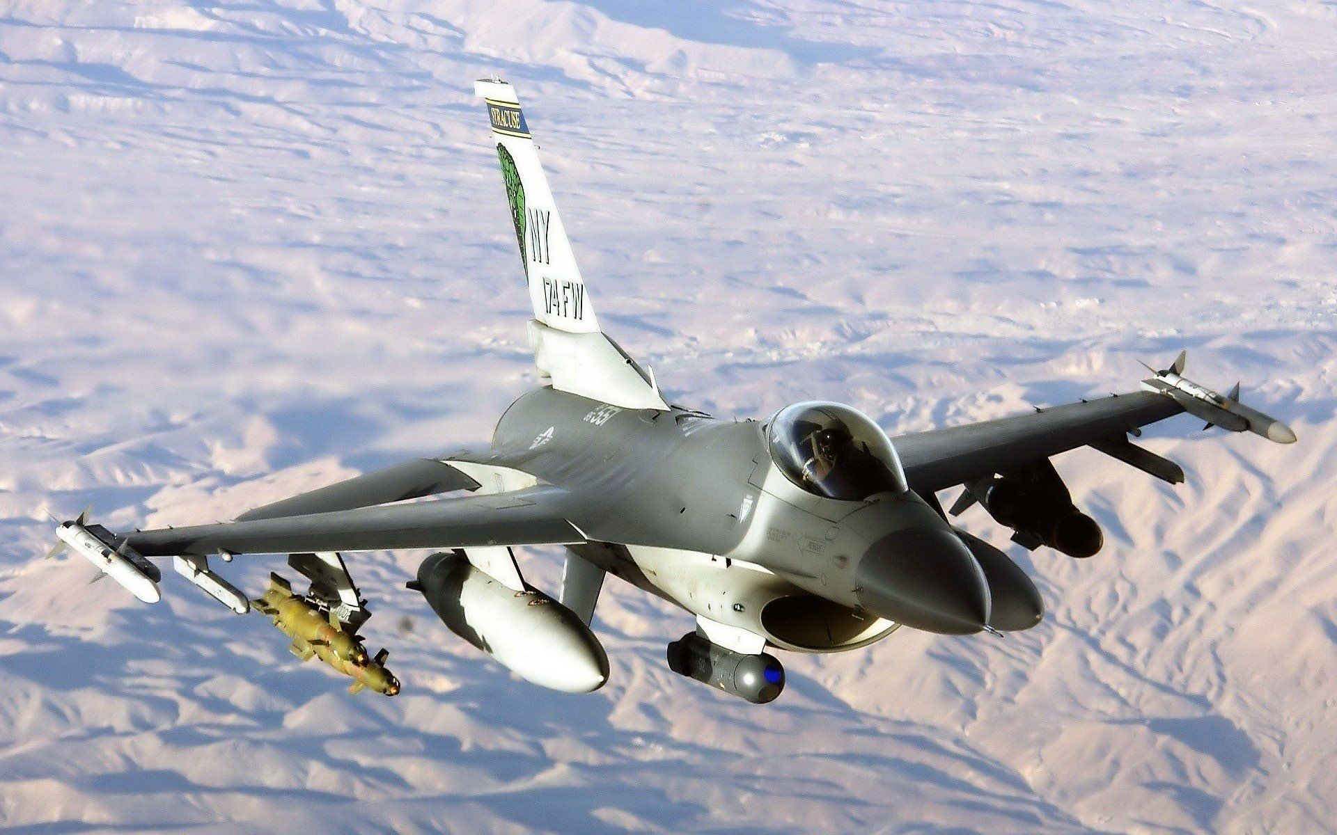 Обои fighting falcon, general dynamics, истребитель. Авиация foto 18