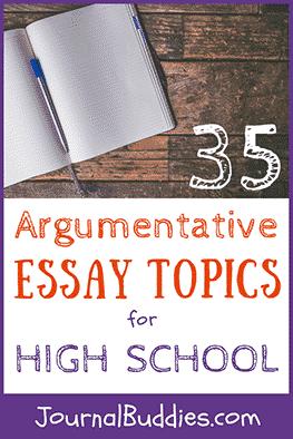 Persuasive essay ideas for high school