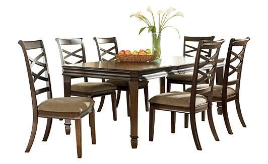 Hayley Extendable Dining Table Furniture Ashley Diningroom